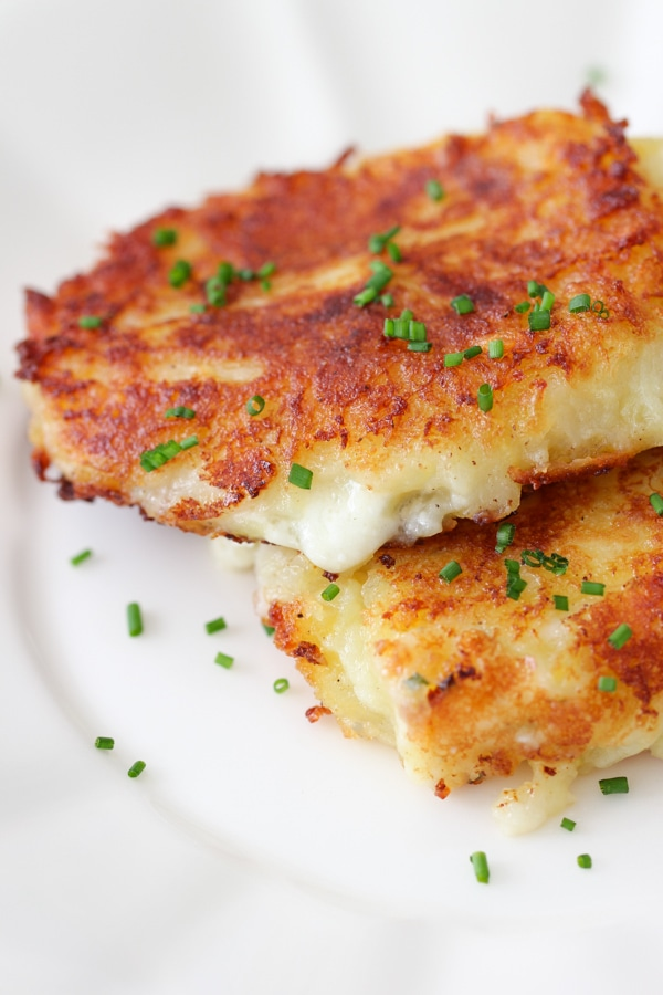 Cheese Stuffed Mashed Potato Cakes-1-2