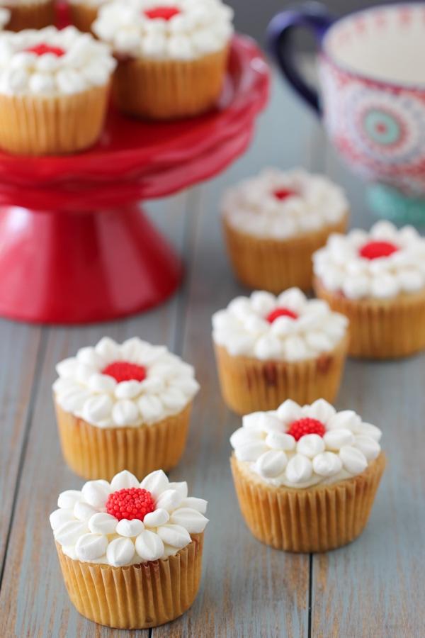 Raspberry Swirl Cupcakes-15