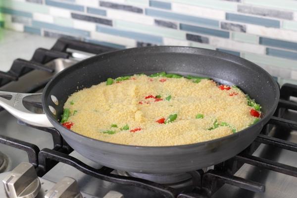Chicken Meatballs With Caprese Couscous-12