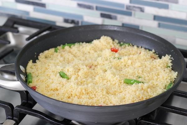 Chicken Meatballs With Caprese Couscous-14