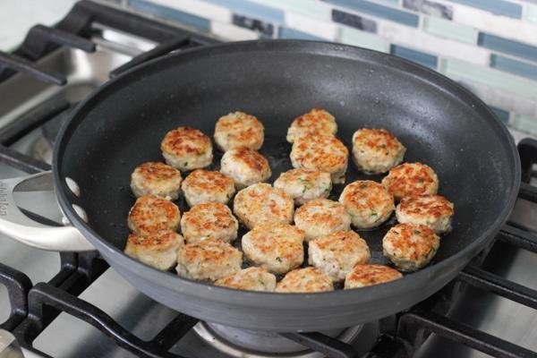 Chicken Meatballs With Caprese Couscous-6