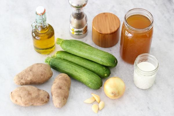Creamy Zucchini Soup-1-16