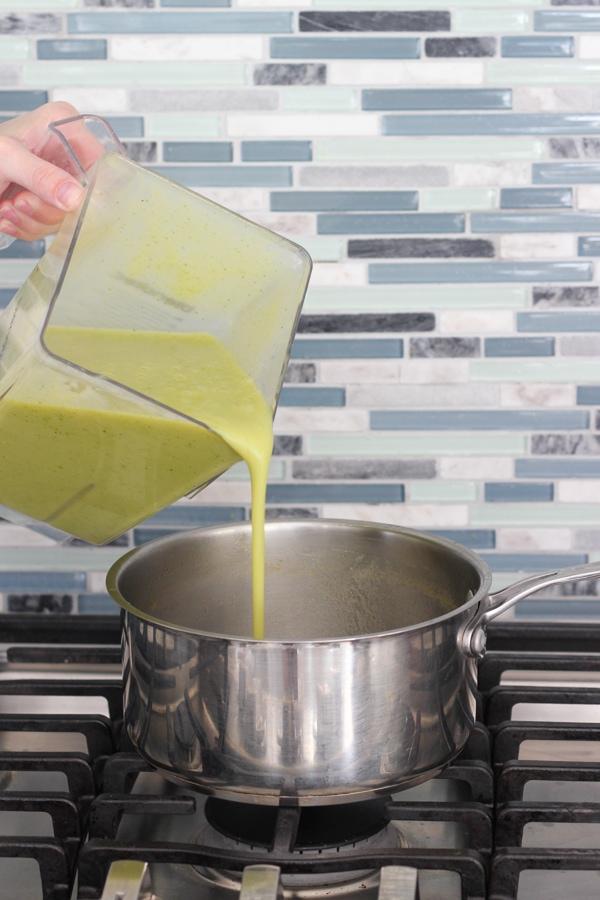 Creamy Zucchini Soup-10
