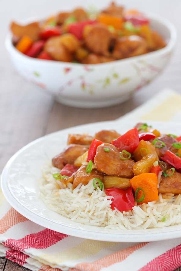 Sweet and Sour Chicken -15