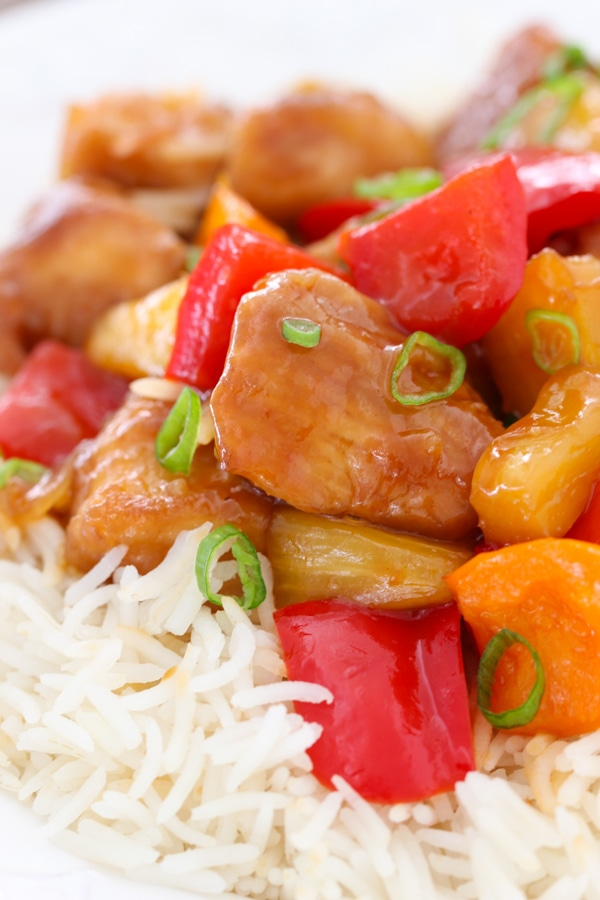 Sweet and Sour Chicken -17