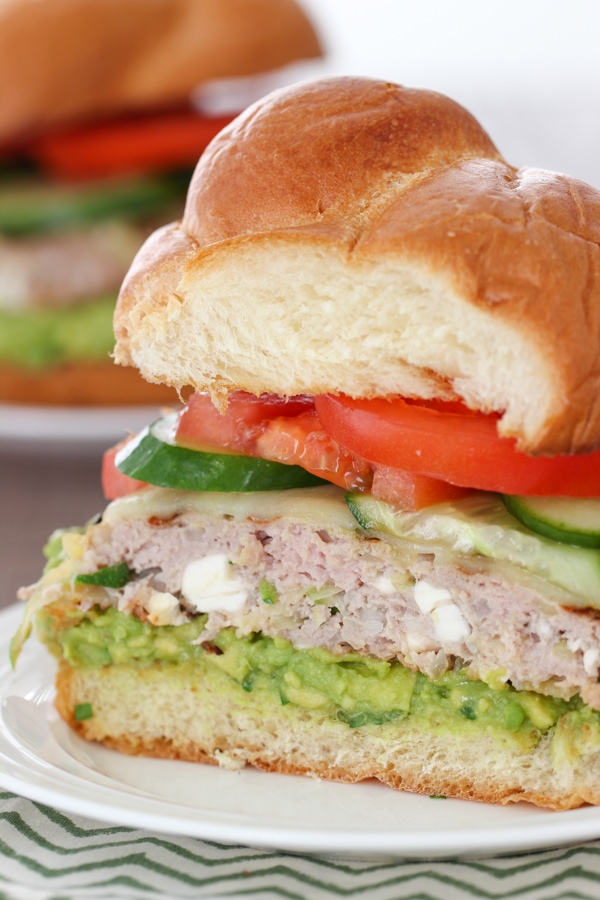 Zucchini and Feta Turkey Burgers-14