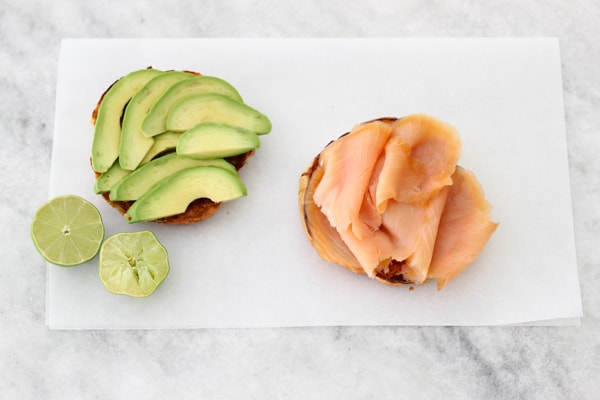 Smoked Salmon and Avocado Egg Sandwich-1-20