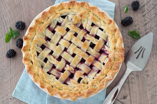 Blackberry Cheesecake Pie-21