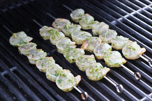 Cilantro Lime Grilled Shrimp-6