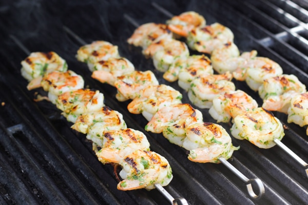 Cilantro Lime Grilled Shrimp-7