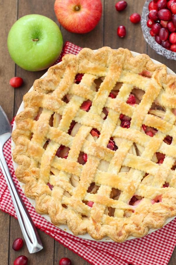 Apple Cranberry Pie-1-20 2
