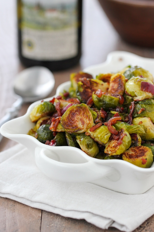 Bacon and Onion Brussels Sprouts -1-2 copy