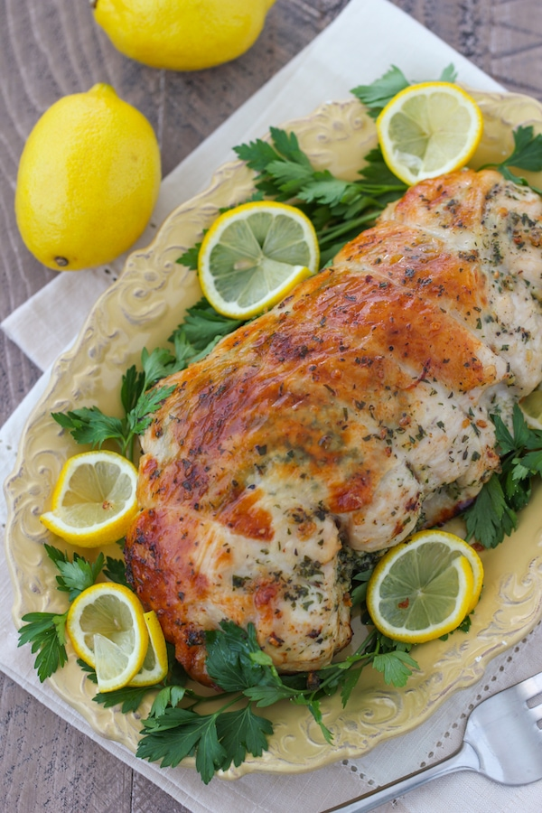 Lemon and Herb Roasted Turkey Breast-1 copy