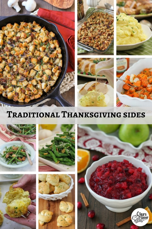 Traditional Thanksgiving sides