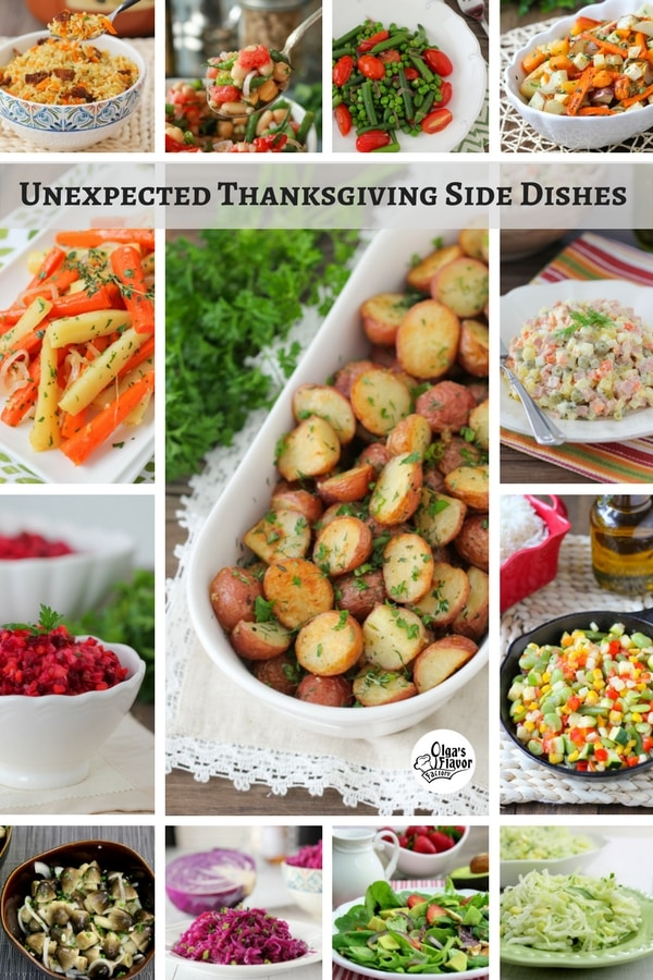 Unexpected Thanksgiving Side Dishes