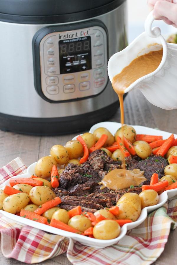 instant pot chuck roast frozen