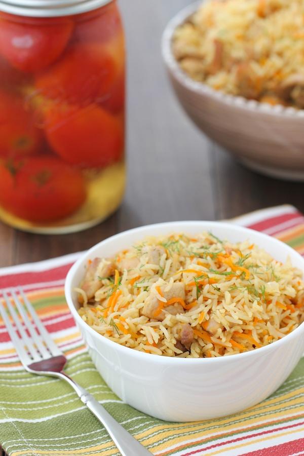 Chicken And Rice Pilaf Plov Olga S Flavor Factory