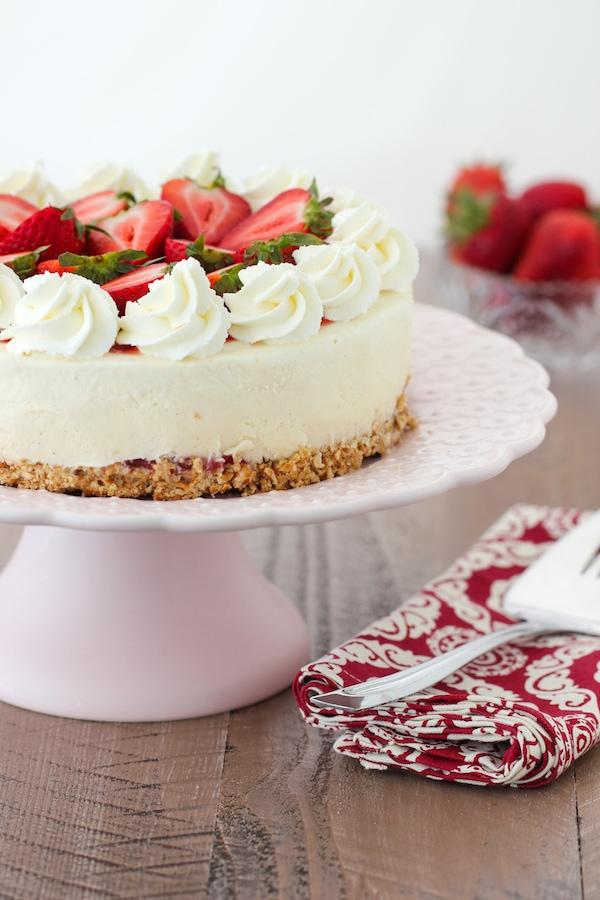 Super Strawberry Cheesecake Ice Cream Cake Olgas Flavor Factory Birthday Cards Printable Riciscafe Filternl