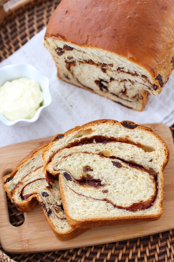 Swirled Cinnamon Raisin Bread Olga S Flavor Factory
