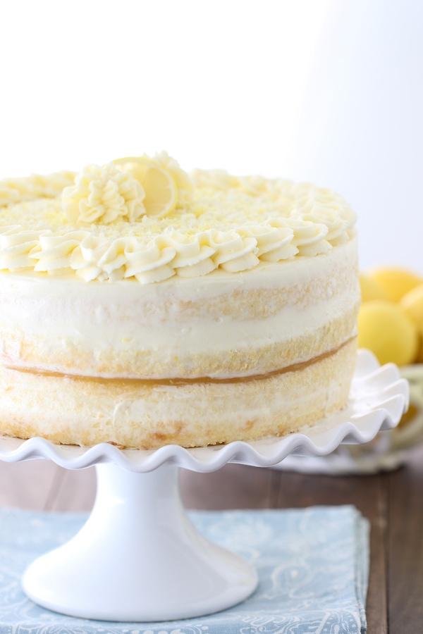 Limoncello Cake Olga S Flavor Factory