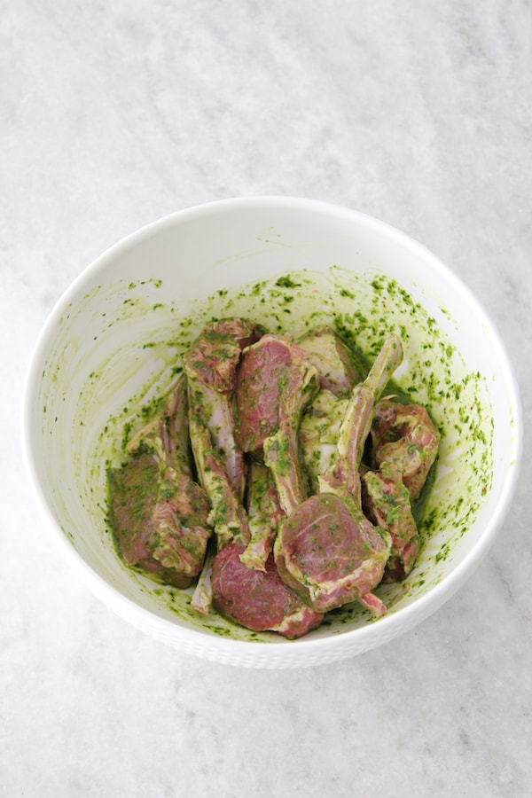 Grilled Lamb Chops With Chimichurri Sauce - Olga's Flavor