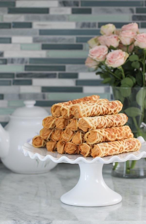 Crisp Russian Trubochki With Dulce De Leche Filling I Video Olga S Flavor Factory