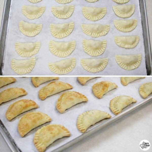 Baking Apple Pie Cookies