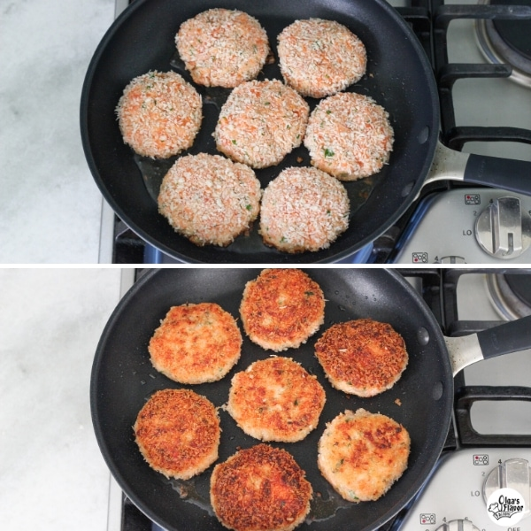 How To Cook Salmon Cakes in a Skillet