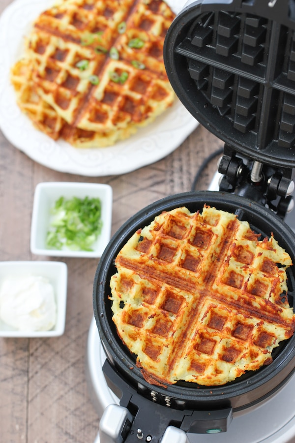 Potato Waffles (Potato Pancakes/Latkes in the waffle maker)