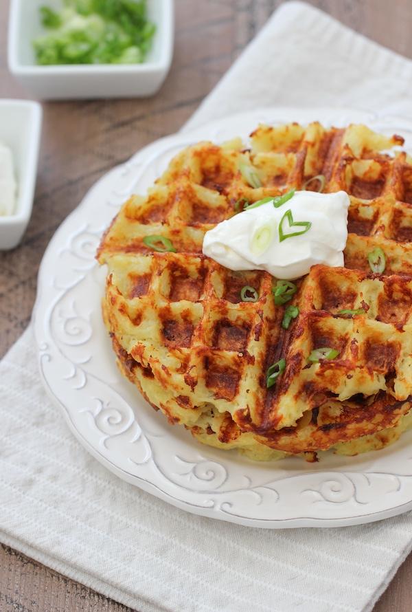Waffle maker Potato Pancakes Latkes