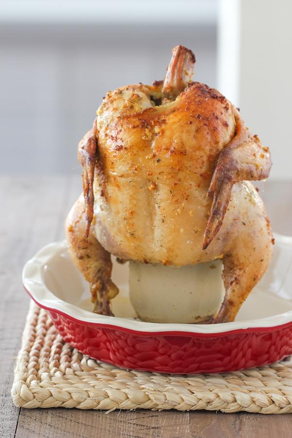 Vertical Roasted Chicken