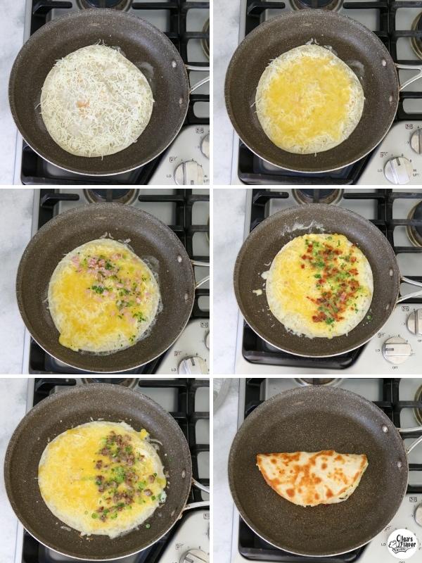 Breakfast Quesadillas Tutorial