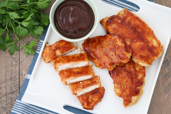 Barbecue Chicken Cutlets