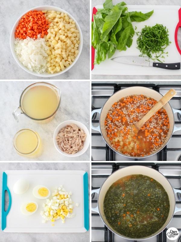 Shchavel - Green Borsch, Russian sorrel soup tutorial.