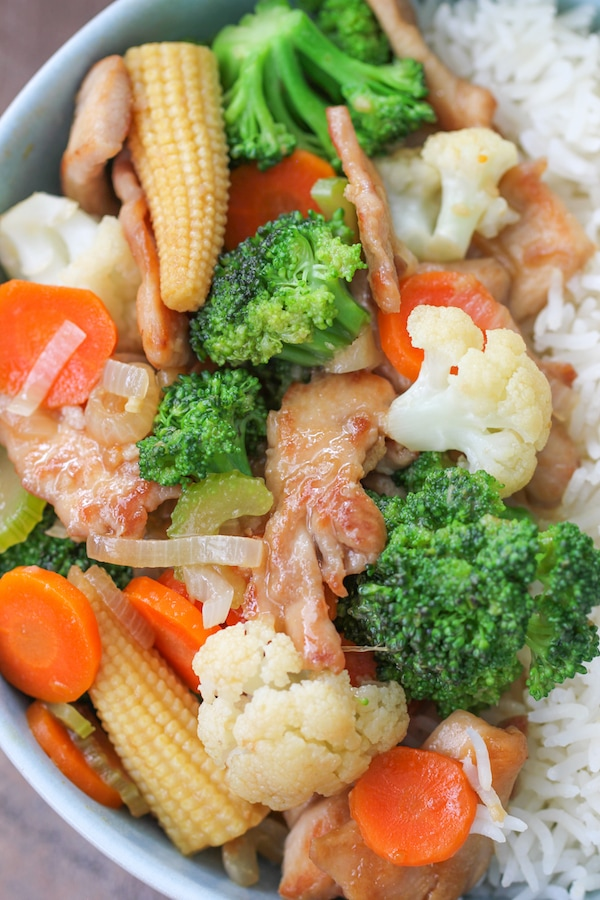 Velveted Chicken Stir Fry Olga S Flavor Factory