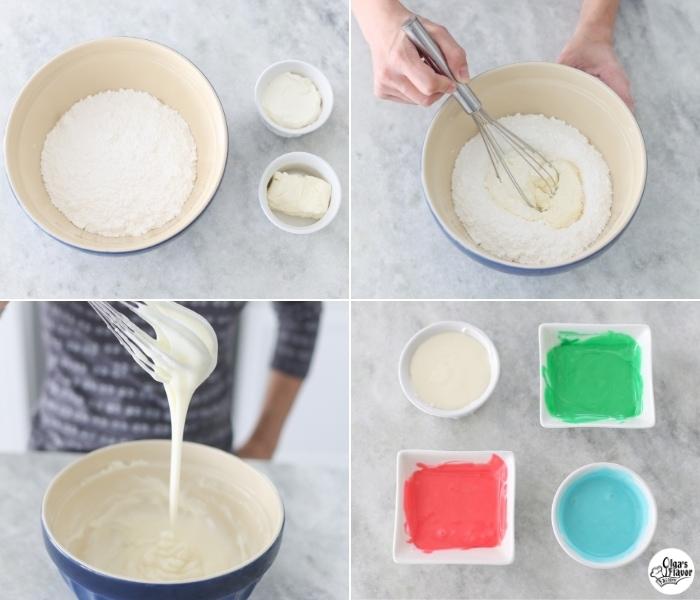 Sour Cream Icing tutorial