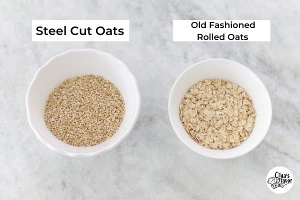 Steel cut oats vs old fashioned oats