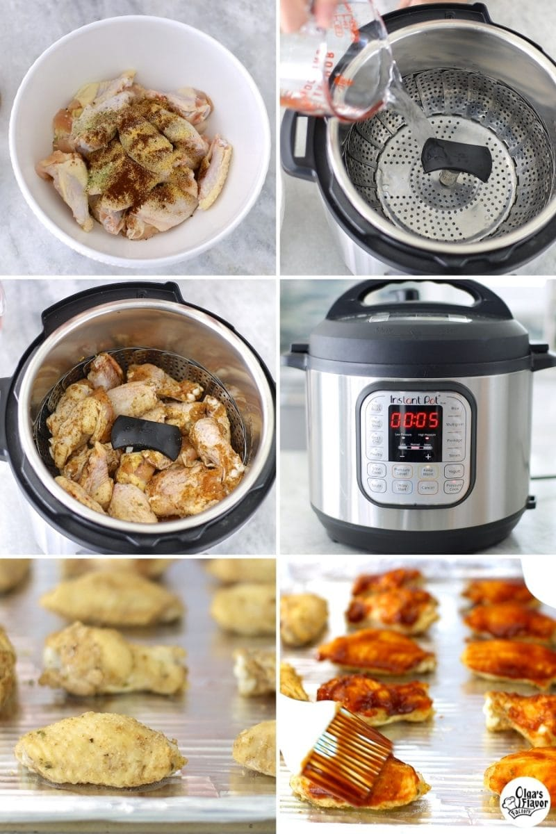 Instant Pot Chicken Wings tutorial