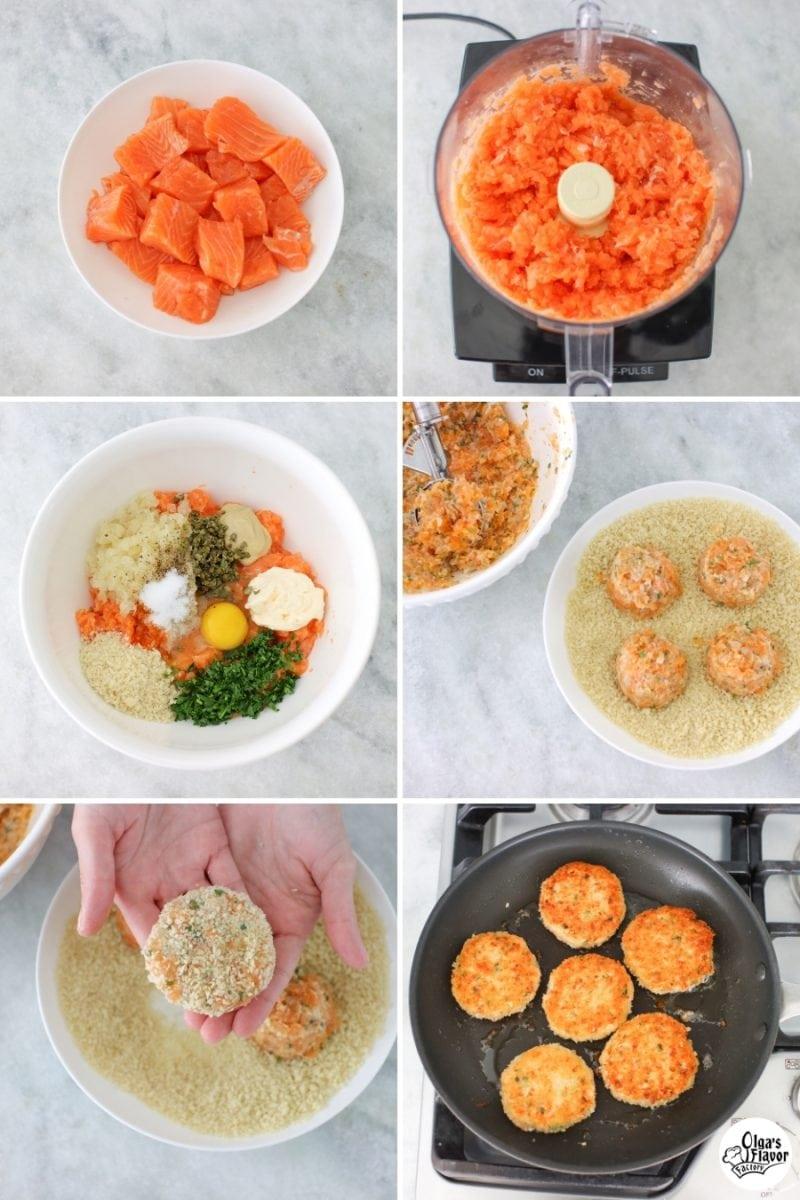 How to Make Salmon Cakes aka Salmon Patties