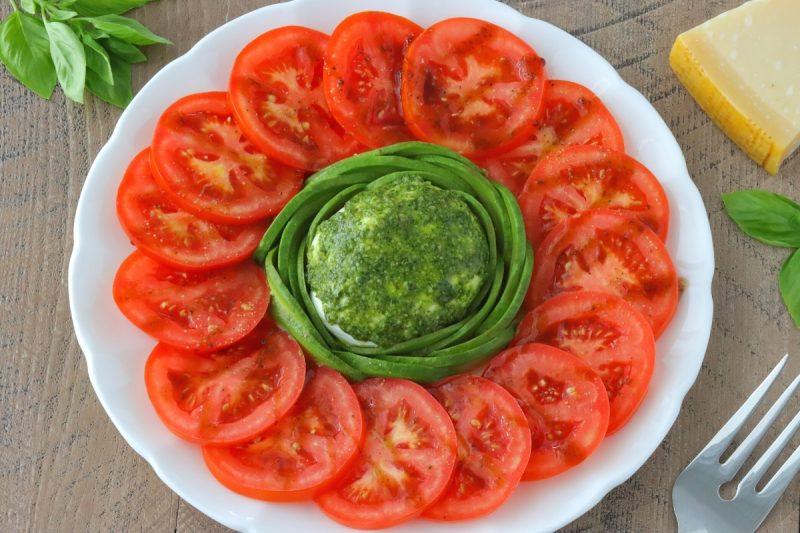 Tomato Caprese Appetizer