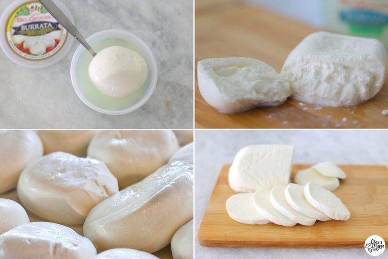 burrata vs mozzarella cheese