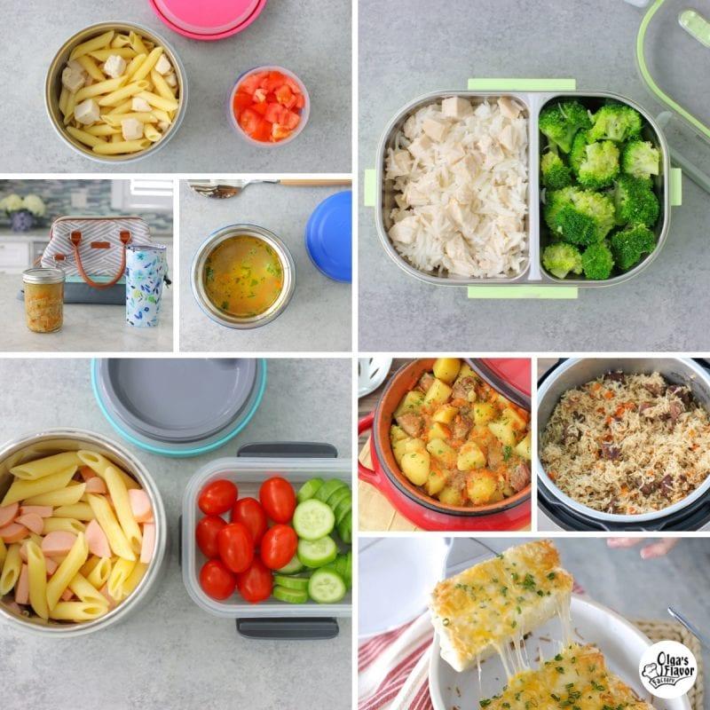 Hot lunch ideas