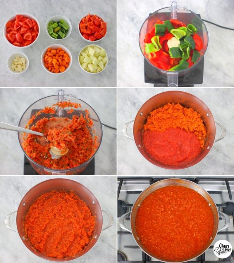 How To Make Adjika Tomato Pepper Salsa
