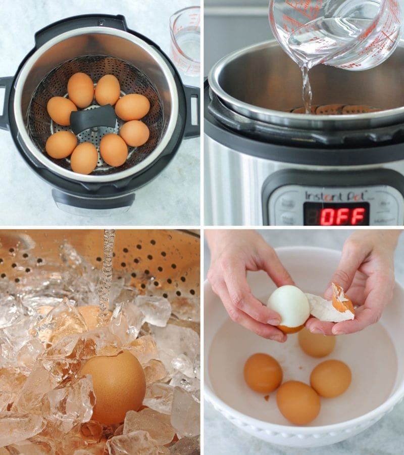 How to make hard boiled eggs in the Instant Pot