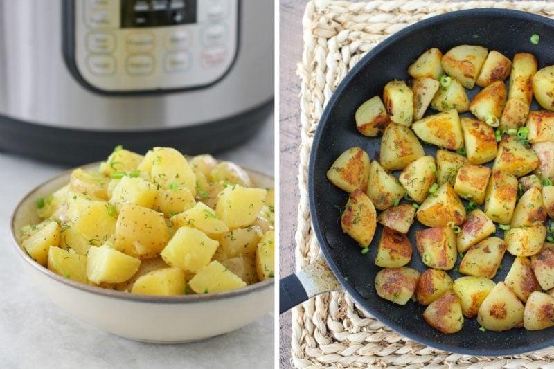 Instant Pot Herbed Potatoes